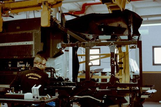کارخانه لامبورگینی؛ محل تولد گاوهای وحشی سنت آگاتا