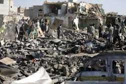 اخبار,اخبار بین الملل , حملات هوایی عربستان در یمن