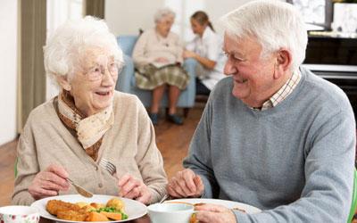 کلسترول خون, تغذیه افراد مسن