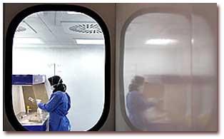 تولید الیاف برطرفكننده بوی نامطبوع بیمارستانها