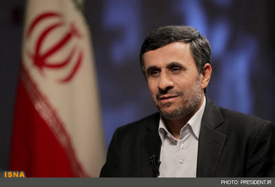 احمدی نژاد در تلویزیون,صحبتهای احمدی نژاد در تلویزیون