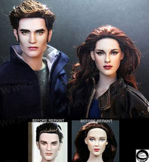 تصاویر عروسک چهره های محبوب هالیوودی , ساخت عروسک چهره های محبوب هالیوودی