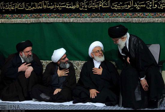 عکس: پنجمین شب عزاداری محرم در حسینیه امام خمینی (ره)