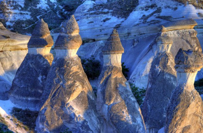 مكانهای عجیب و غیرطبیعی,عجایب گردشگری,کاپادوکیه  ترکیه
