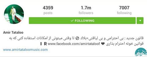 اخبار,اخبار فرهنگی,فالوور اینستاگرام چهره های ایرانی