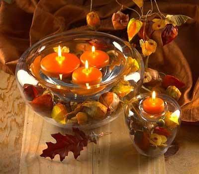 نمونه هایی از تزیین شمع های سفره هت سین