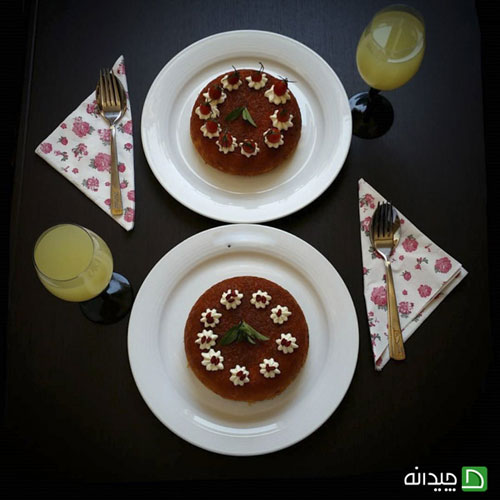 هنر بانوی خوش سلیقه ایرانی در تزیین غذا