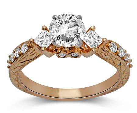 طلا و جواهرات عروس, حلقه های شیک زنانه