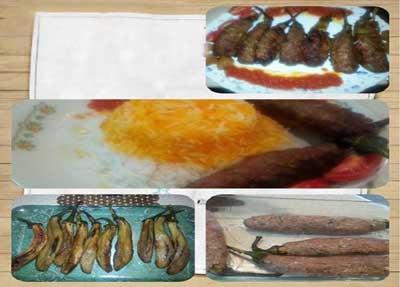 بادمجان گوشتی کبابی,طرز درست کردن بادمجان گوشتی کبابی