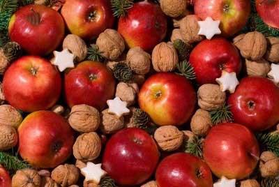 تزیین سیب و پرتقال برای شب یلدا!