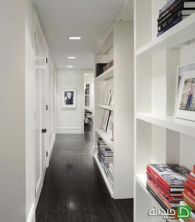 چگونه برای آپارتمان کوچک مان کتابخانه بسازیم؟