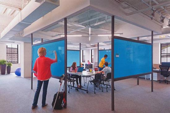 ۳ توصیه برای طراحی داخلی اداری استارت آپ ها