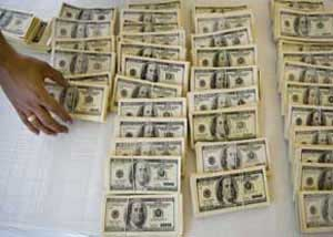 شعب بانک ملی , فروش ارز