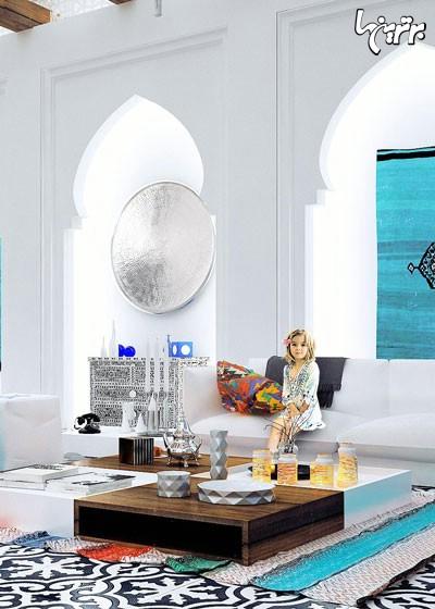 خانه را به سبک اندلوس دکور کنید