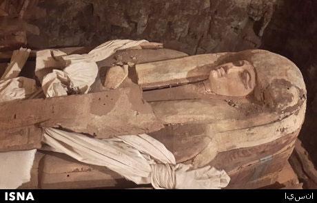 کشف مقبره خوانندهی فرعون در مصر
