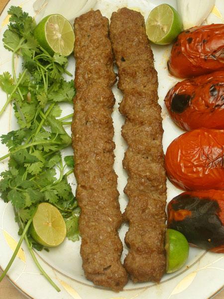 تهیه کباب کوبیده سنتی, نحوه پخت کباب کوبیده