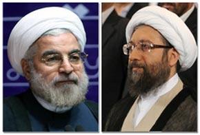 دیدار آملی لاریجانی و حسن روحانی,اخبار سیاسی