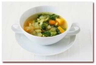 سوپ سیب زمینی به روش چینی