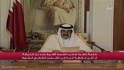 انتقال قدرت در قطر