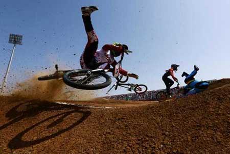 عکسهای جالب,مسابقات دوچرخه سواری ,تصاویر دیدنی