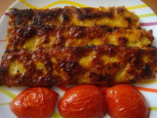 طرز تهیه کباب کوبیده مرغ (تابه ای)