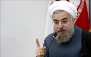 حضور روحانی در جمع مدیران رسانه ها