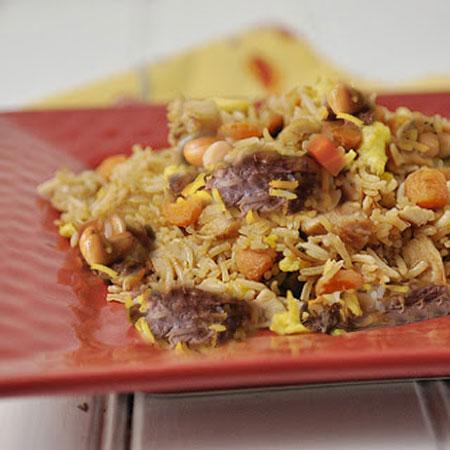 طرز تهیه نخودپلو غذای ترکیه ای,انواع غذاهای ترکیه ای