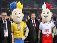 عروسکهای یورو 2012 نامگذاری شدند