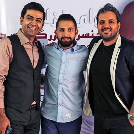 اخبار,اخبار فرهنگی,محسن افشانی در کنار فرزاد حسنی