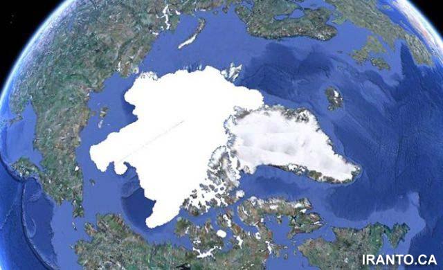 سرعت باورنکردنی آب شدن یخ های قطب شمال