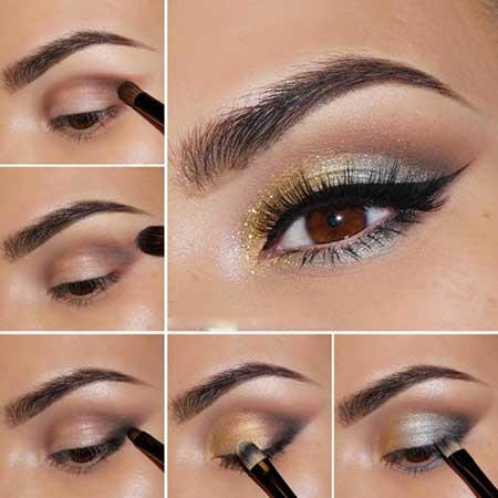 جدیدترین آموزش آرایش چشم جذاب و زیبا
