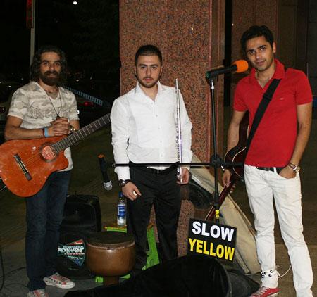 گروه «زرد یواش» جدیدترین پدیده کنسرت خیابانی
