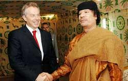 اسناد وزارت خارجه انگلیس: قذافی لندن را به