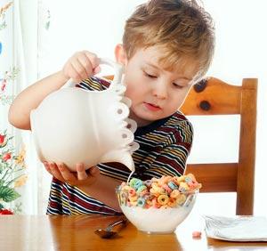 صبحانه کودک,تغذیه صبحانه کودک,غذای کودک