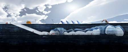 قطب جنوب , طراحی ساختمان , اخبار علمی