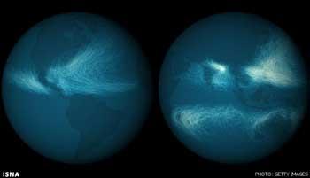 تصاویر ماهوارهای,تصویر ماهوارهای از آرامش زمین