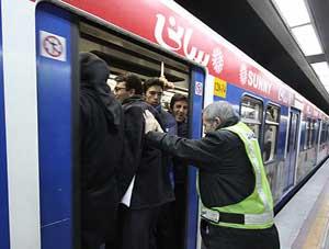 مترو , واگن , گمرک , ترخیص ,  مسافر , طرح ترافیک در تهران