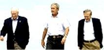 چه كسانی سیاست خارجی دولت جورج بوش را برنامه ریزی می كنند