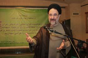 حضور سیدمحمد خاتمی در دانشگاه تهران