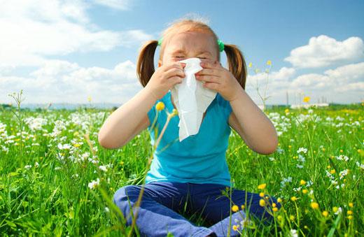 بیماری های بهار در کمین کودکان