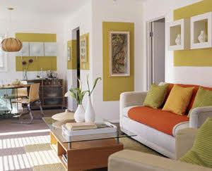 نمونه ای از ایده های بسیار جالب برای تزیین اتاق نشیمن