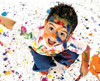 پرورش هنری کودکان,خلاقیت کودکان,پرورش خلاقیت کودکان
