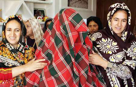 عروسی ترکمن ها , مراسم ازدواج در ترکمن