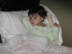 کودک بیمار
