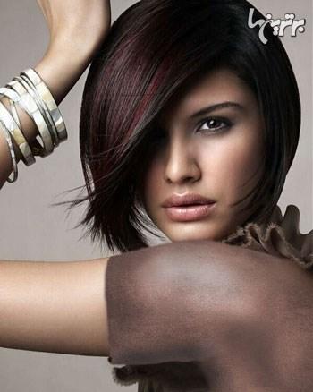 جدیدترین هایلایت برای موهای مشکی