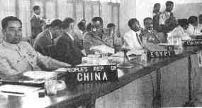 گوشه اي از کنفرانس سال 1955 باندونگ