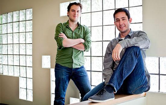 کِوین و مایک؛ از استنفورد تا اینستاگرام