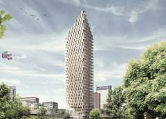 بلندترین آسمانخراش چوبی جهان,طراحی بلندترین آسمانخراش چوبی جهان