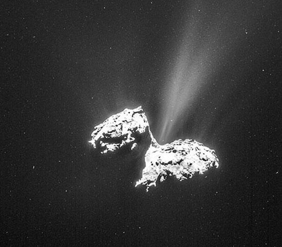 کشف نشانههای لازم برای حیات در یک ستاره دنبالهدار